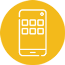 Mobile App - Yellow Circle 125x125.png