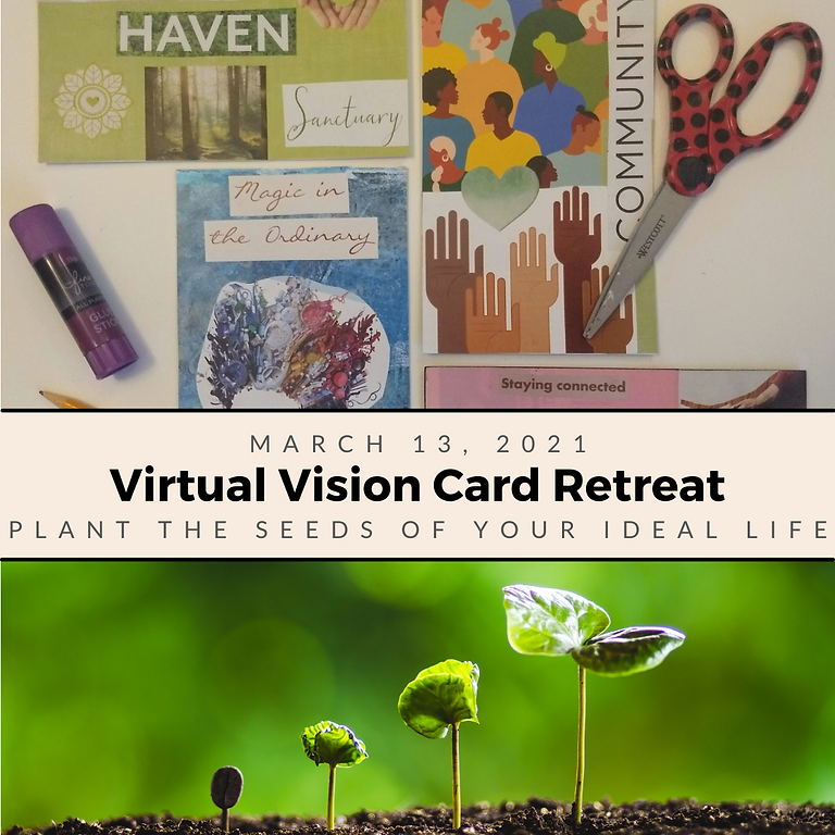 Planting Seeds - Virtual Vision Card Retreat