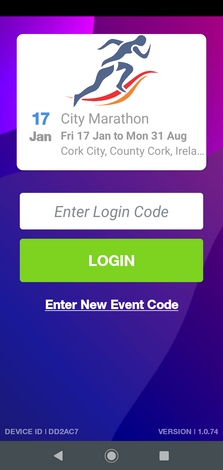 • User friendly application  • Easily visible outdoors  • Customisedlogin code