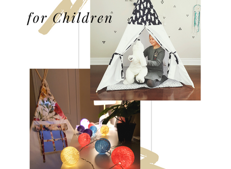 Interesting Teepee ideas for children - Tips to set up decor.