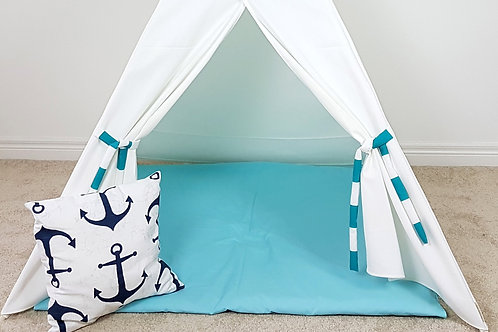 2 Colours Floor Mat for Teepee.