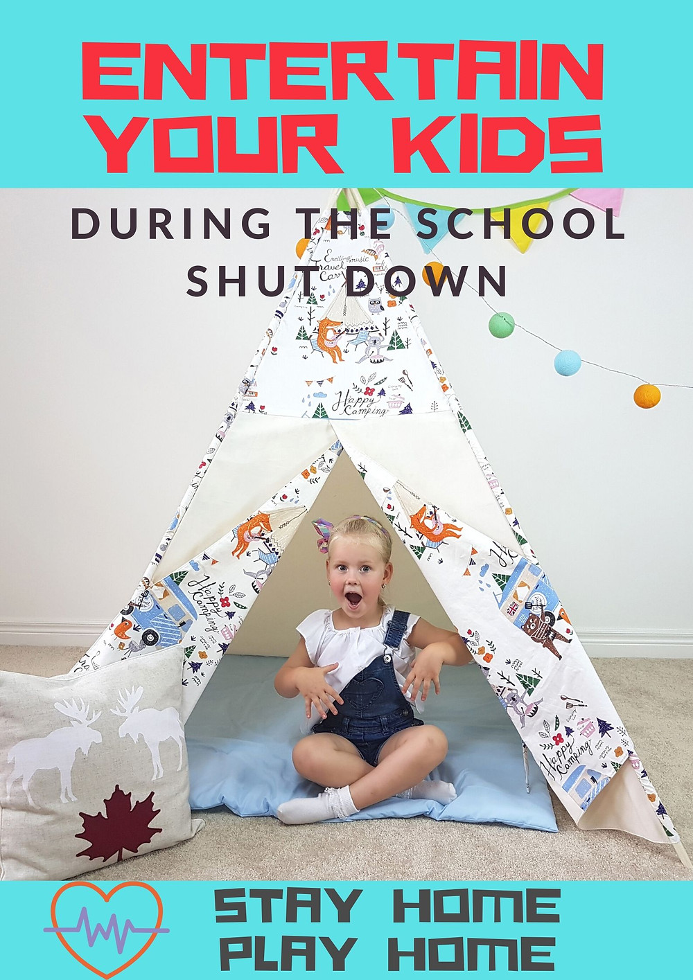 entertain your kids during the school shut down