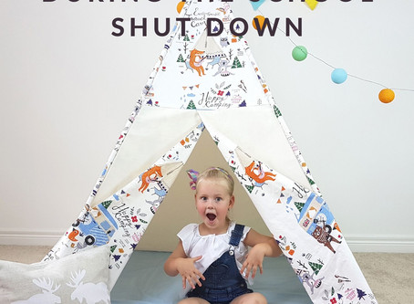 Top tips to keep your kids entertained during the school shut down!