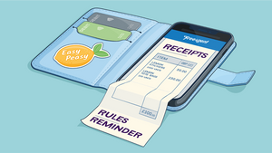 Which expense receipts do you need to keep?