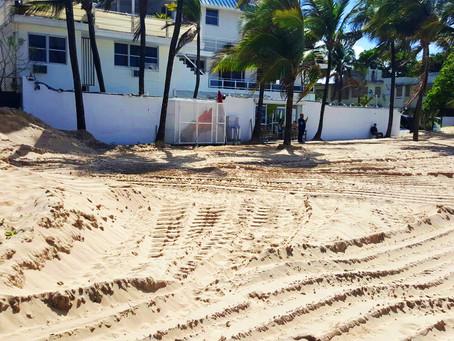 DRNA defiende trabajos en Playa de Ocean Park