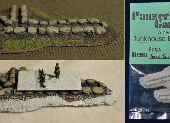 1/285th Small Strongpoint terrain pieces
