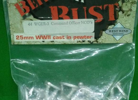 25mm German NCOs/Berlin or Bust! Minis