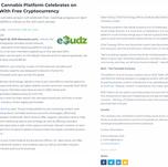 eBudz Cannabis Platform Launch PR