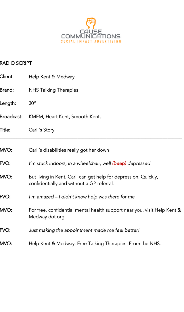 CARLI'S STORY