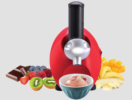 Yami מכונה בייתית להכנת פרוזן יוגרט וסורבה מעולים יאמי