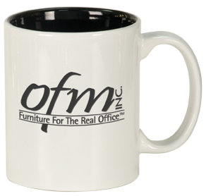 """LaserMug """"Round"""" Ceramic Mug"""