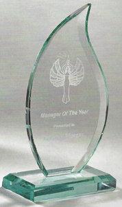 Jade Glass Flame Award