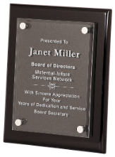 Premier Piano Finish Floating Acrylic Plaques