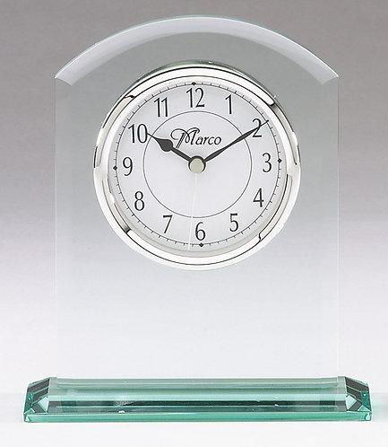 Corporate Crystal & Glass Clock - Q407