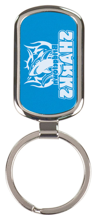 Laserable Rectangular Key Ring