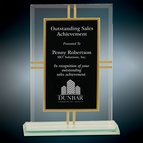 Premier Contemporary Glass 4-Point Award