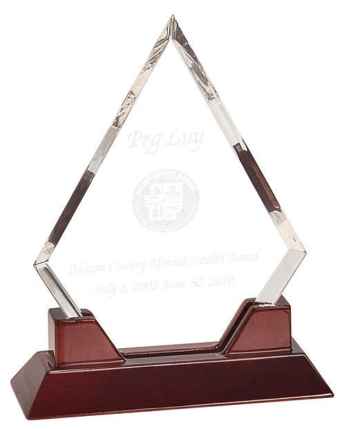 Premier Prestige Diamond Glass on Rosewood