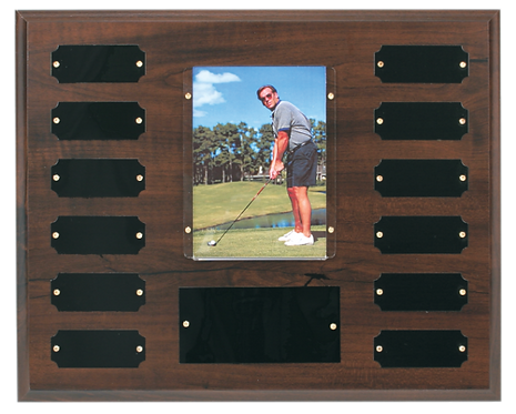 Recognition Photo Perpetual Plaque