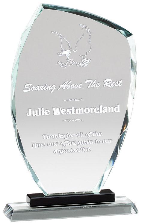 Premier Slant Glass Award