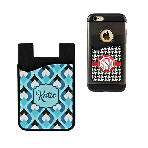 2-in-1 Cell Phone Card Caddy Wallet