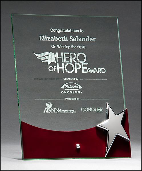 Silver Star Glass Award