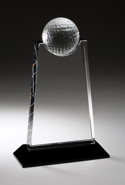 Golf Ball On Top Crystal