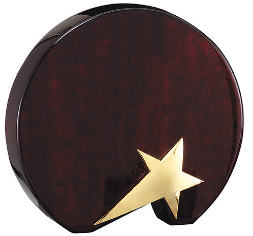 Gold Star on Circle Rosewood Piano Finish