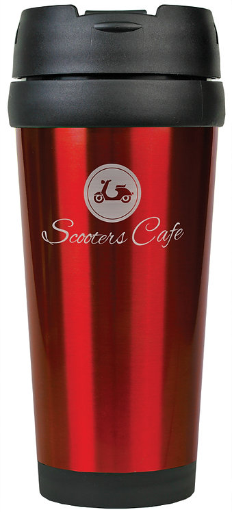 Laserable Stainless Steel Travel Mug without Handle 16 oz.