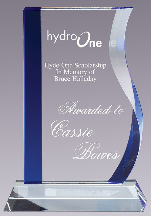 Blue Wave Glass Award