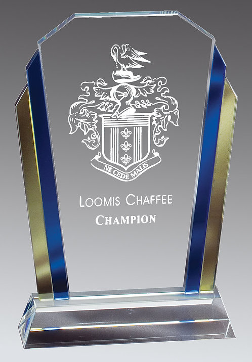 2 Color Glass Marquee Award