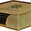 Thumbnail: Square Leatherette Coaster Set