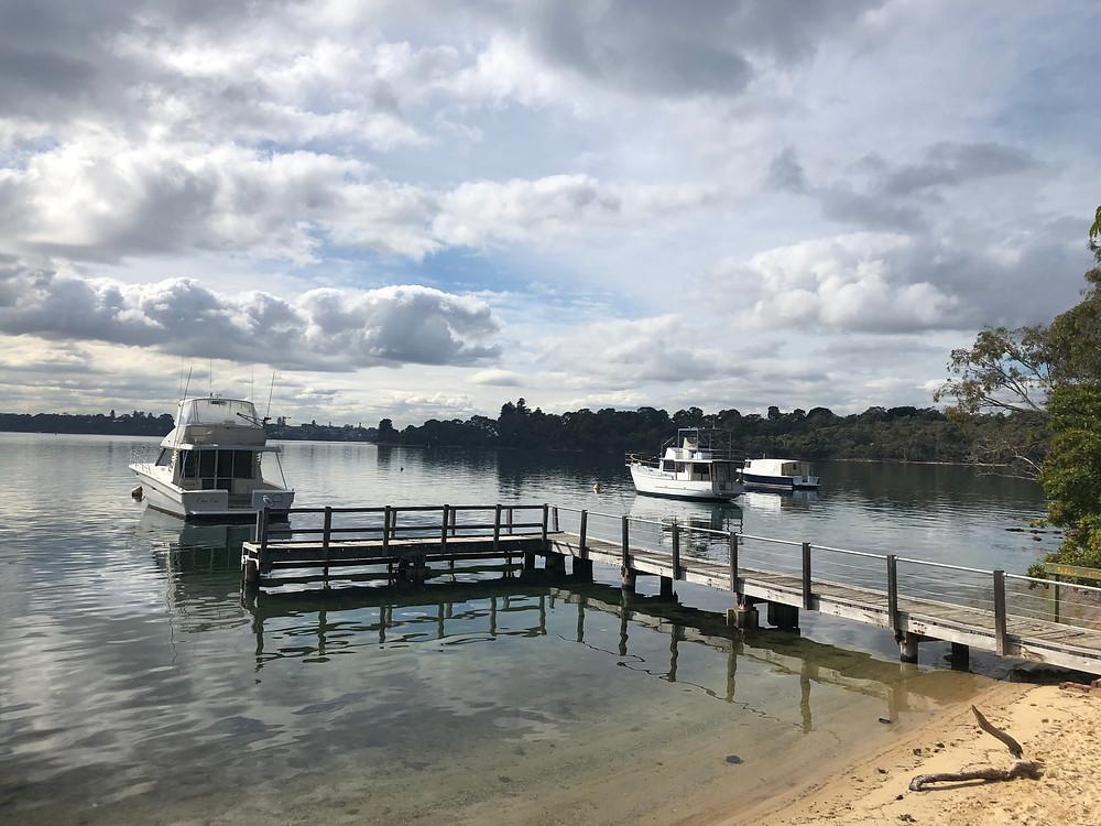 Jetty on the Swan River Mosman Park