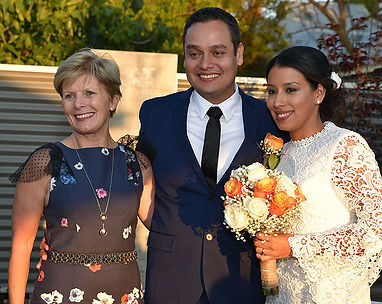 Married Couple & Celebrant