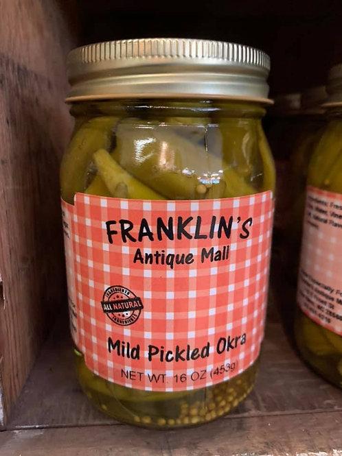 Mild Pickled Okra
