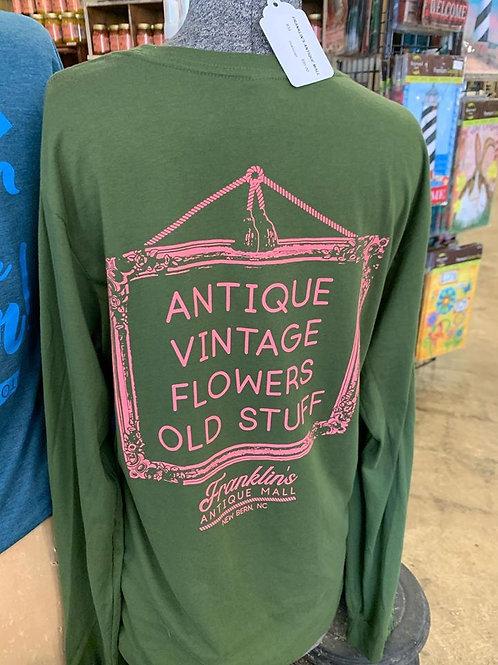Pink Frame Long Sleeve Shirt