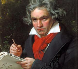 Beethoven's Birthday Card