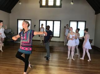Ballet lifts hope