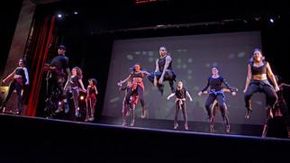 Gallaudet Dancers on board