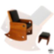 Cadeiras Drops Móveis Pedro Guglielmi