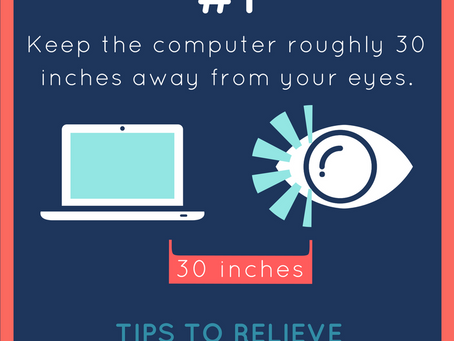 Tips to Relieve Digital Eye Strain