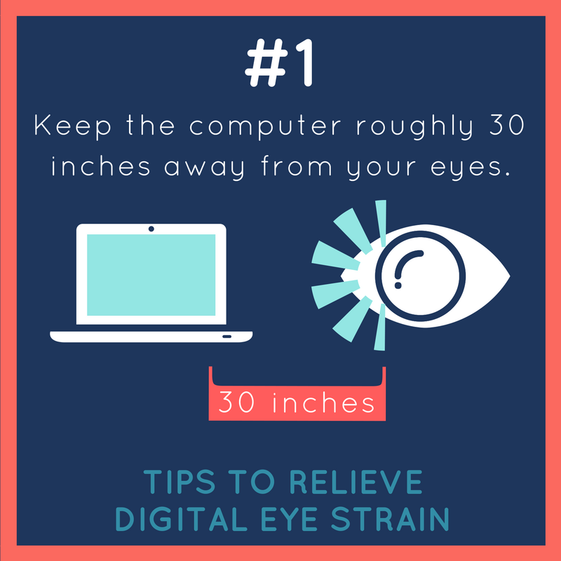 Our Langley optometrist and tips on relieving digital eye strain