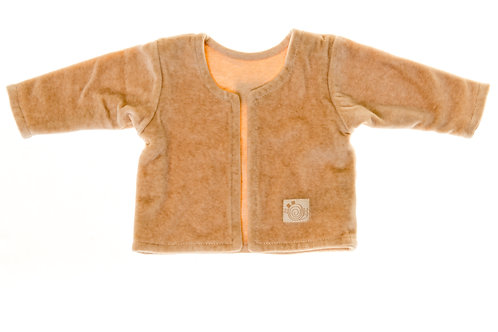 Nature's Purest Brown Jacket 0-3 months