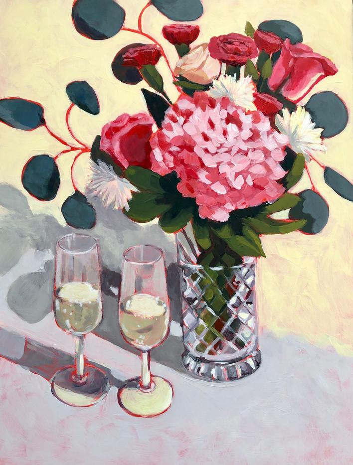 Pink Hydrangea Bouquet_1