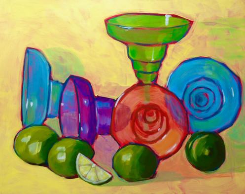 Margarita Glasses & Limes_1