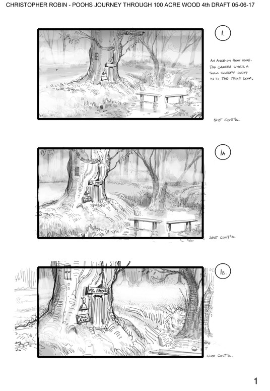 Pooh's Journey Through 100 Acre Wood v4