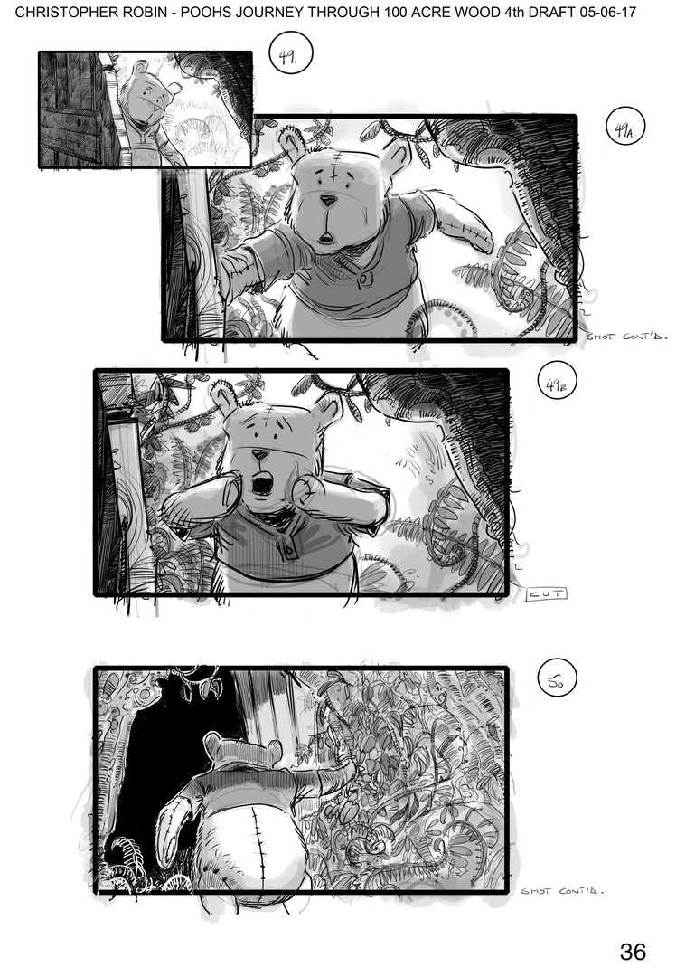 Pooh's Journey Through 100 Acre Wood v4