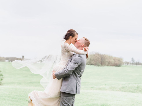 RANDI + KYLE   A ROMANTIC, VINTAGE SPRING WEDDING AT THE OLD MILL VILLAGE   FREMONT, INDIANA