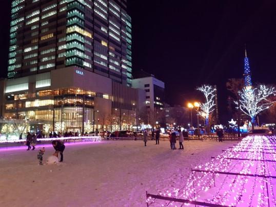 Suasana Sapporo White Illumination