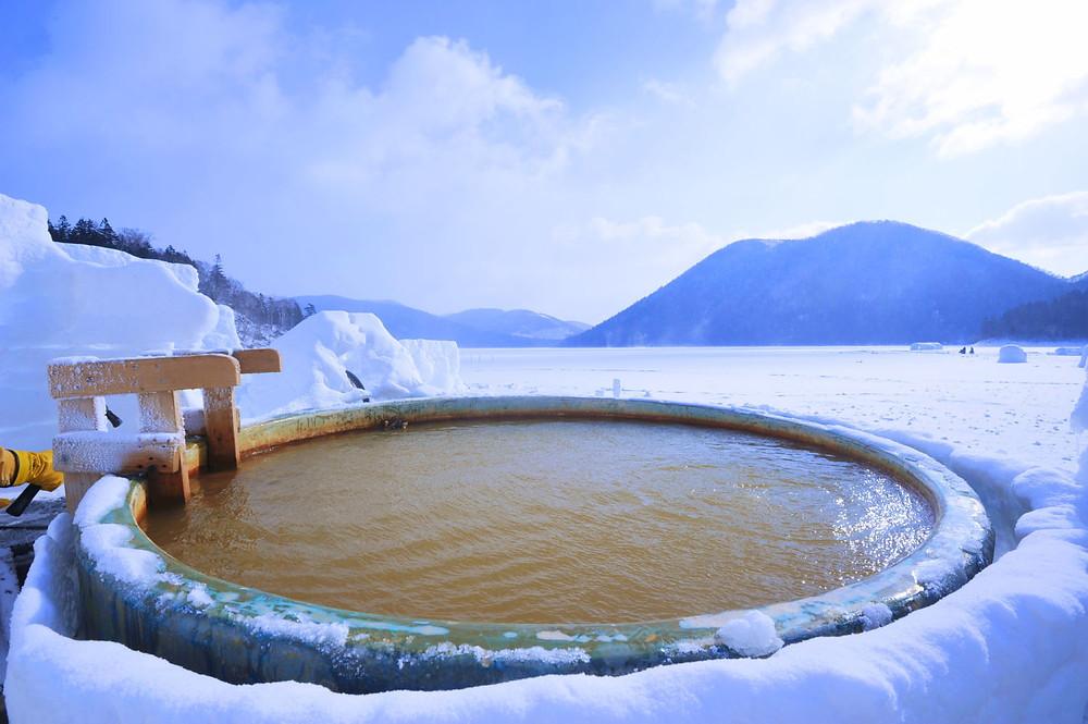 Shikaribetsu-ko Onsen di Hokkaido
