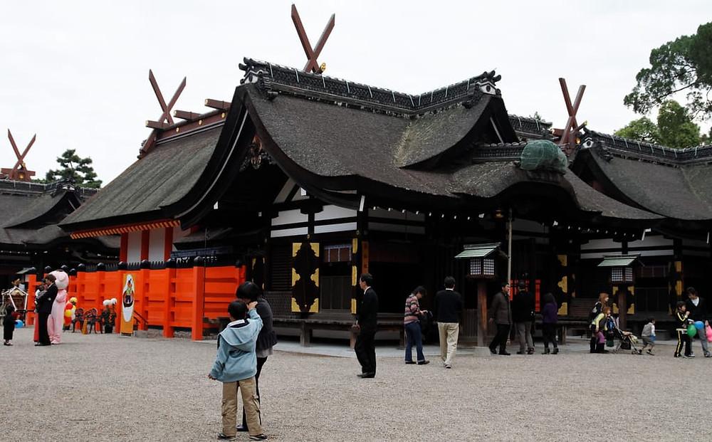 Sumiyoshi Taisha Jinja